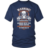 Trucker T-Shirt Design - Trucker's Warning