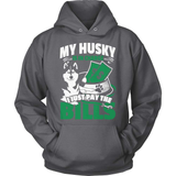 Husky T-Shirt Design - My Husky Is In Charge!