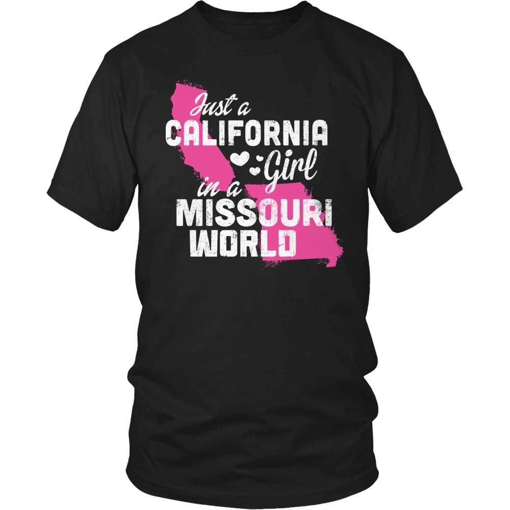 California T-Shirt Design - California Girl Missouri World