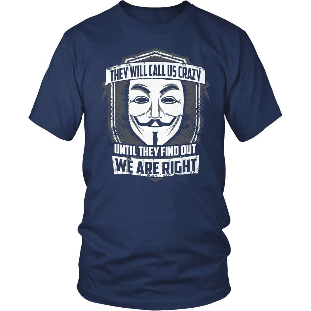 Truth Seeker T-Shirt Design - Until They Find Out We Are Right!