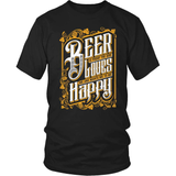 Beer T-Shirt Design - God Loves Me