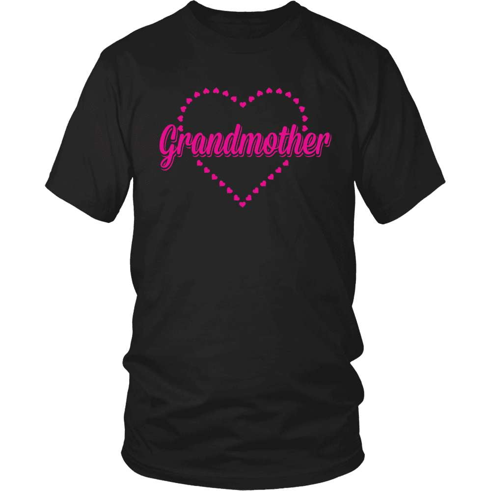 Grandparent T-Shirt Design - Heart Grandmother