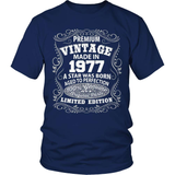 Birthday T-Shirt - Premium - 1977