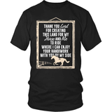 Horse T-Shirt Design - Thank You Lord