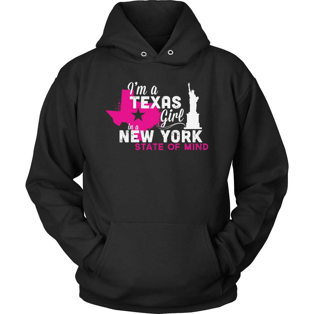 Texas T-Shirt Design - Texas Girl NY State Of Mind