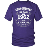 Birthday T-Shirt Design - Awesomeness - 1962