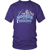 Fishing T-Shirt Design - Hooker At The Weekends