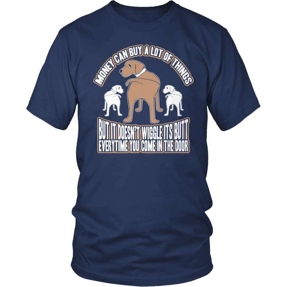 Dog T-Shirt Design - Wiggle It's Butt!