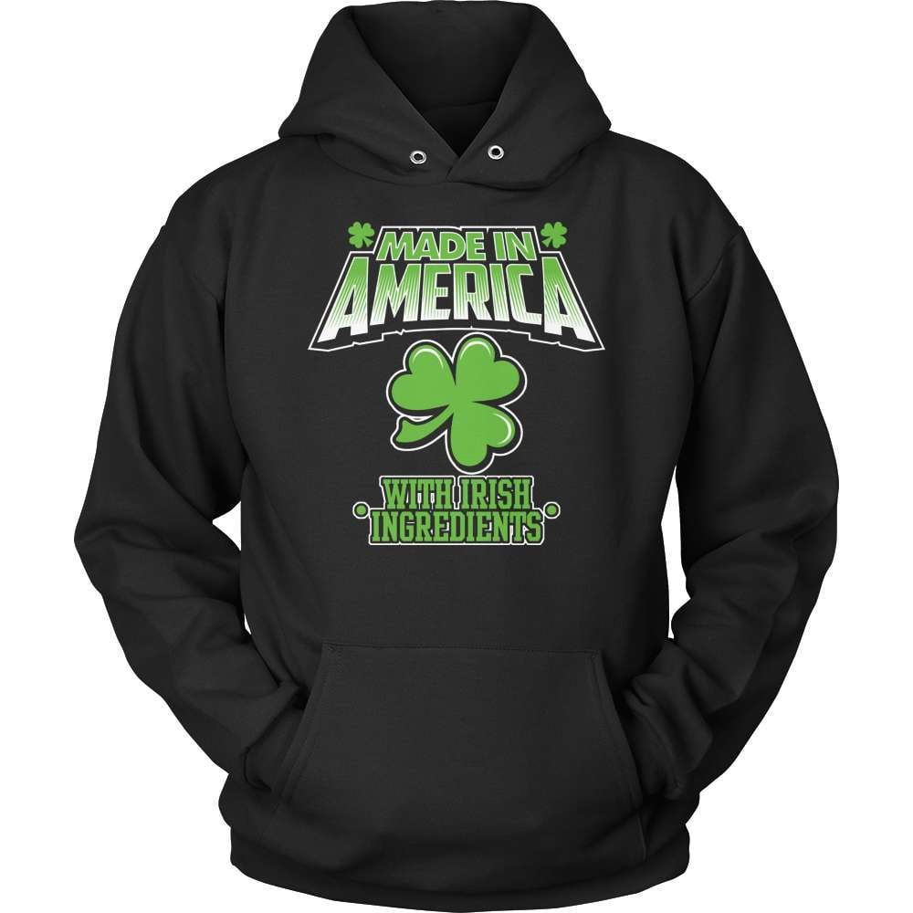 Irish T-Shirt Design - Made In America With Irish Ingredients! - snazzyshirtz.com