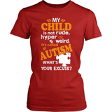 Autism T-Shirt Design - What's Your Excuse