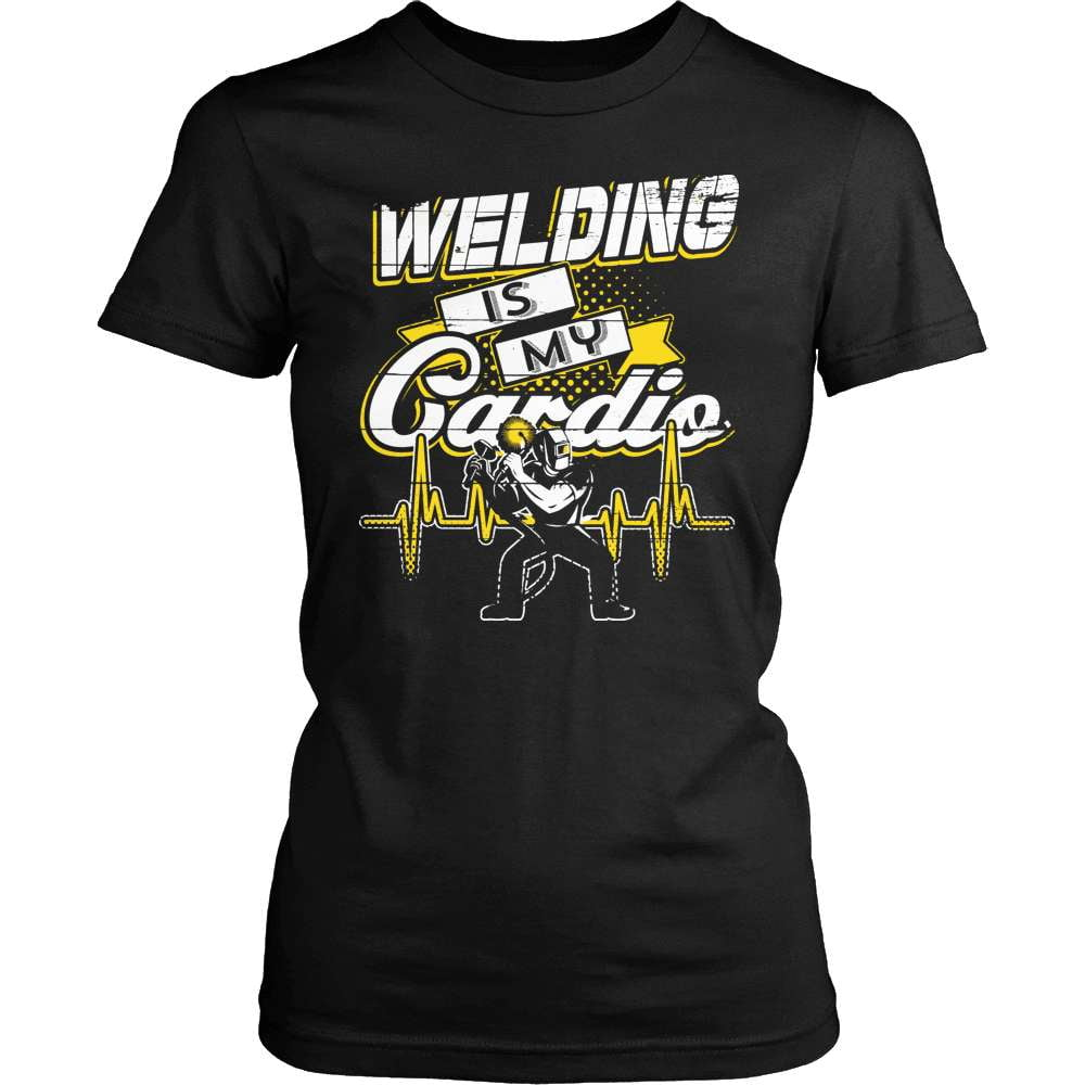 Welder T-Shirt Design - My Cardio!