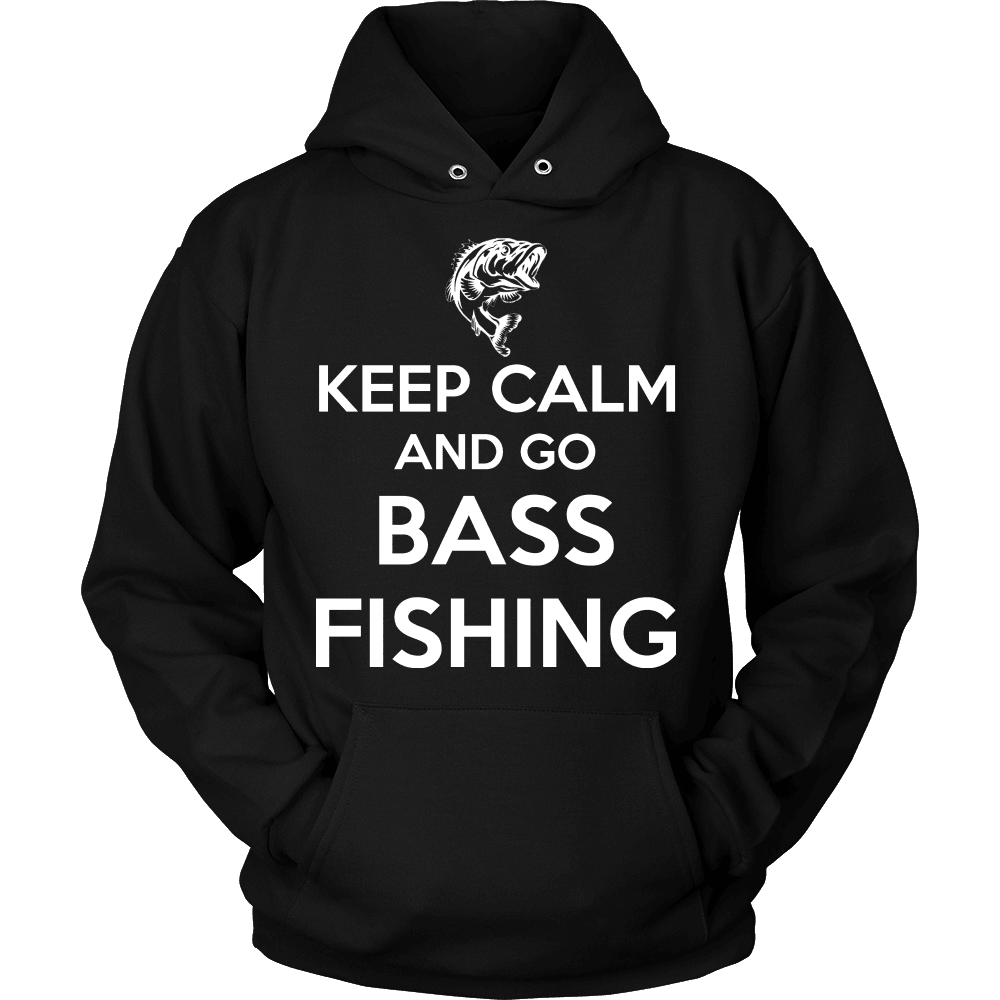 Fishing T-Shirt Design - Keep Calm Bass Fishing