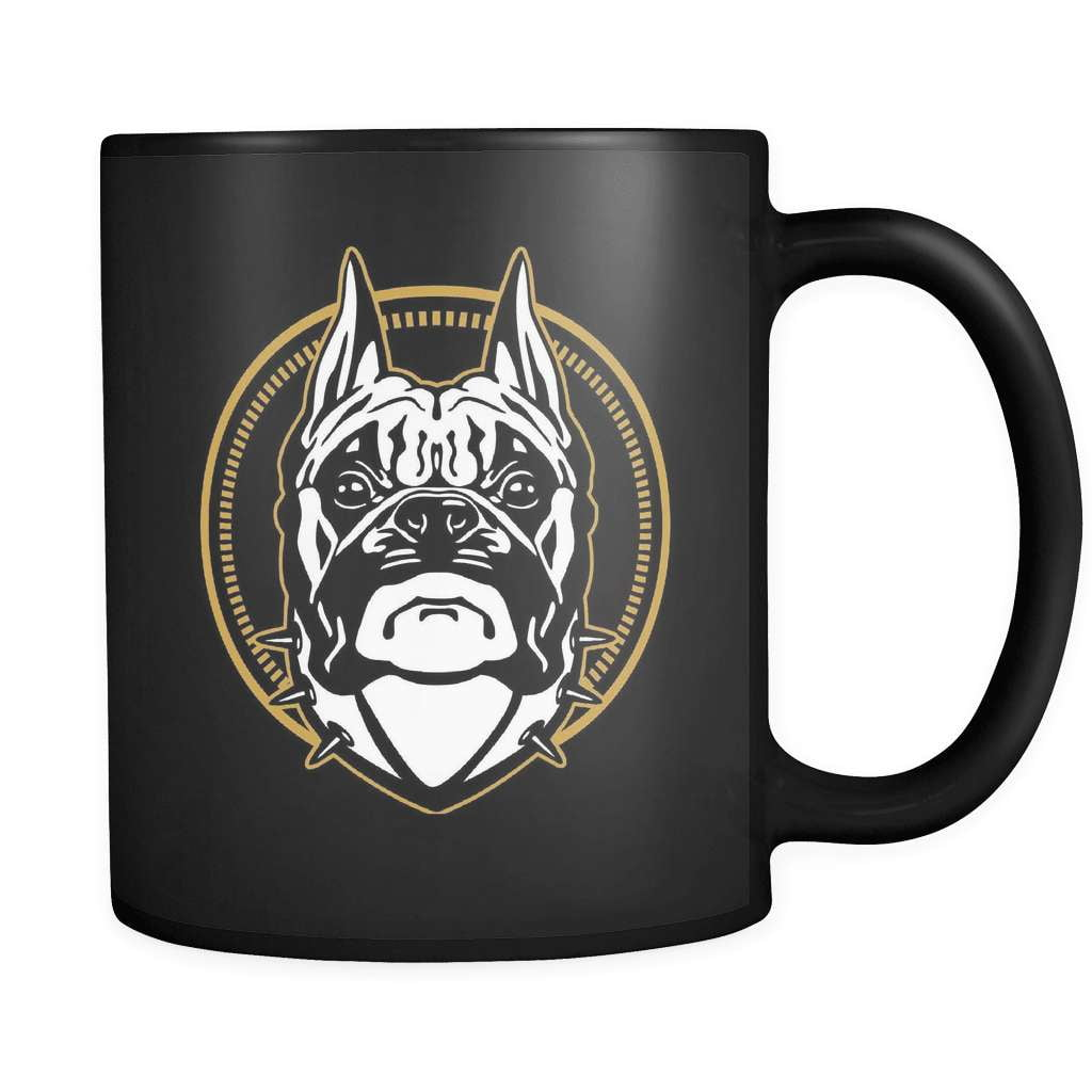 Don't Mess - Luxury Boxer Mug - snazzyshirtz.com