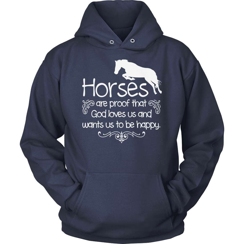 Horse T-Shirt Design - Horses Are Proof That God Loves Us!