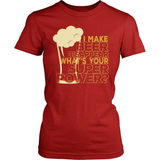 Beer T-Shirt Design - I Make Beer Disappear!
