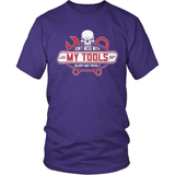 Mechanic T-Shirt Design - Dont Mess With My Tools