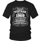 Birthday T-Shirt - Premium - 1969