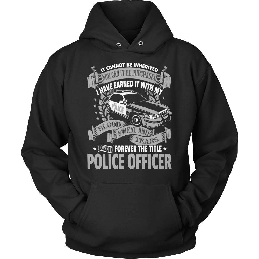Police T-Shirt Design - Forever The Title! - snazzyshirtz.com