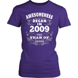 Birthday T-Shirt Design - Awesomeness - 2009