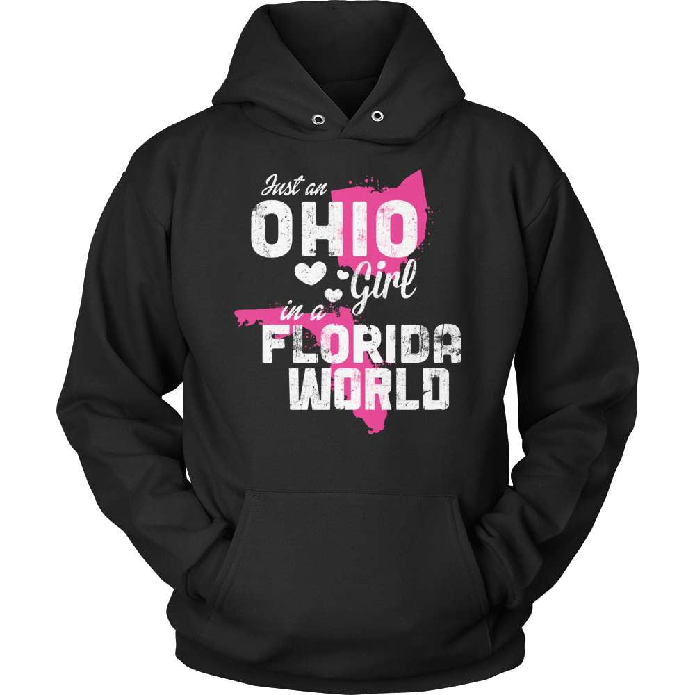 Ohio T-Shirt Design - Ohio Girl Florida World