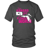 Kansas T-Shirt Design - Kansas Girl Florida World