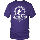 Lacrosse T-Shirt Design - Some Become