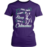 Chihuahua T-Shirt Design - Sleep With A Chihuahua