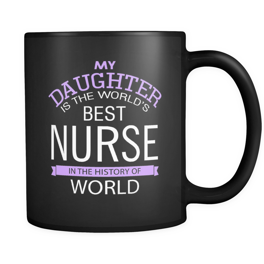 World's Best Nurse Daughter - Luxury Mug