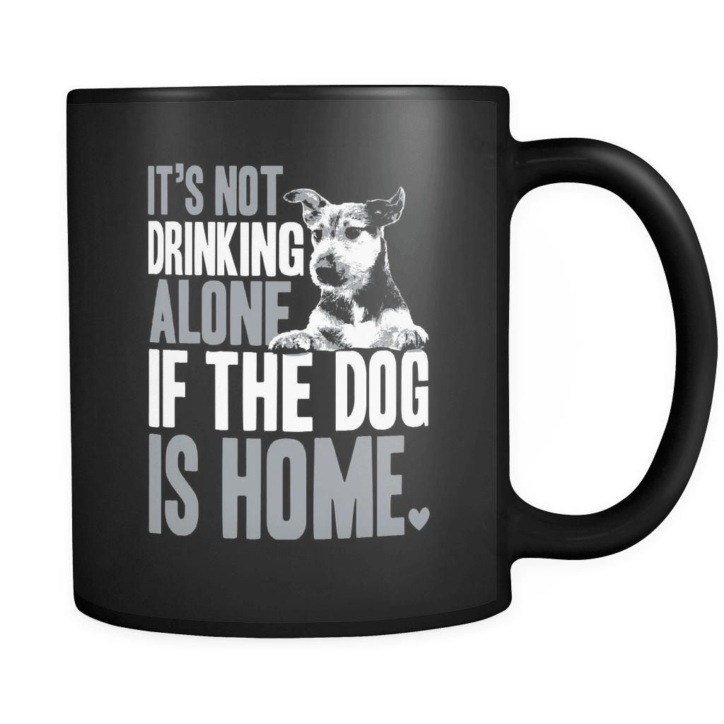 If The Dog Is Home - Luxury Mug