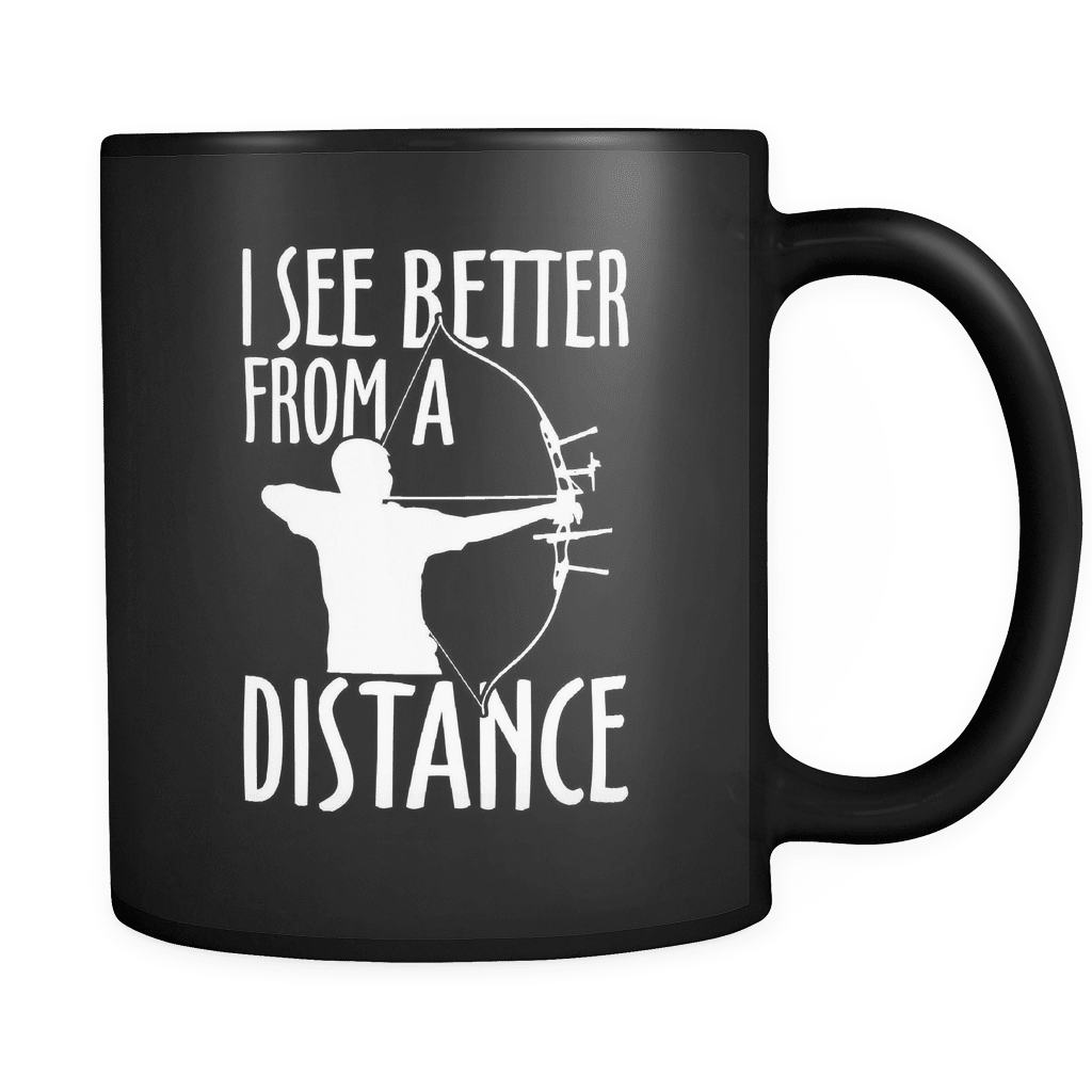 Better From A Distance - Luxury Archery Mug