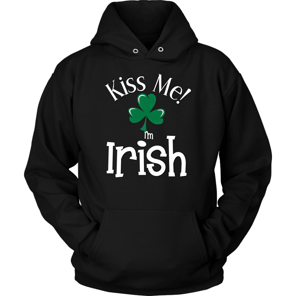 Irish T-Shirt Design - Kiss Me!