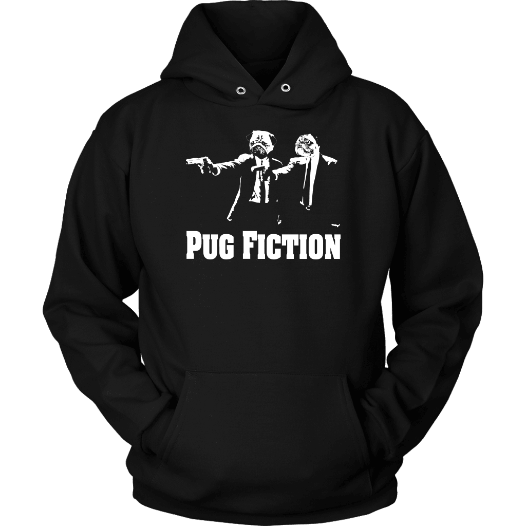Pug T-Shirt Design - Pug Fiction
