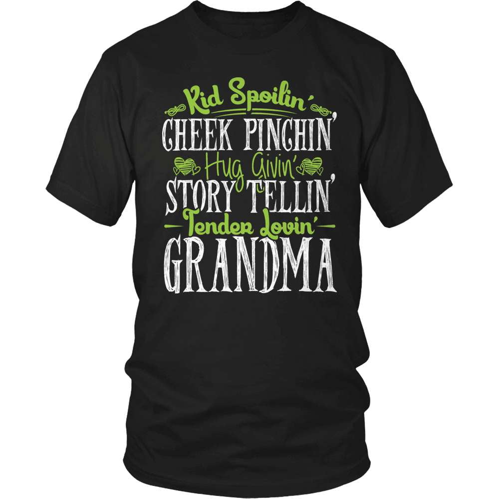Grandparent T-Shirt Design - Tender Lovin Grandma