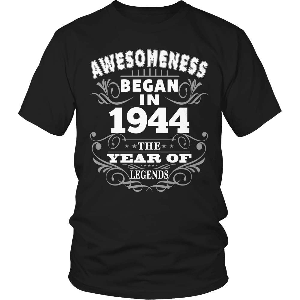 Birthday T-Shirt Design - Awesomeness - 1944 - snazzyshirtz.com