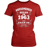 Birthday T-Shirt Design - Awesomeness - 1963