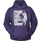 Fishing T-Shirt Design - How You Wiggle Your Worm!
