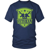 Veteran T-Shirt Design - 100% Veteran