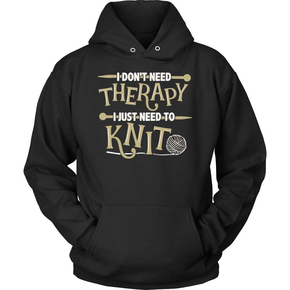 Knitting T-Shirt Design - I Just Need To Knit - snazzyshirtz.com