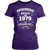 Birthday T-Shirt Design - Awesomeness - 1979
