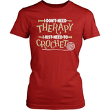 Knitting T-Shirt Design - I Just Need To Crochet