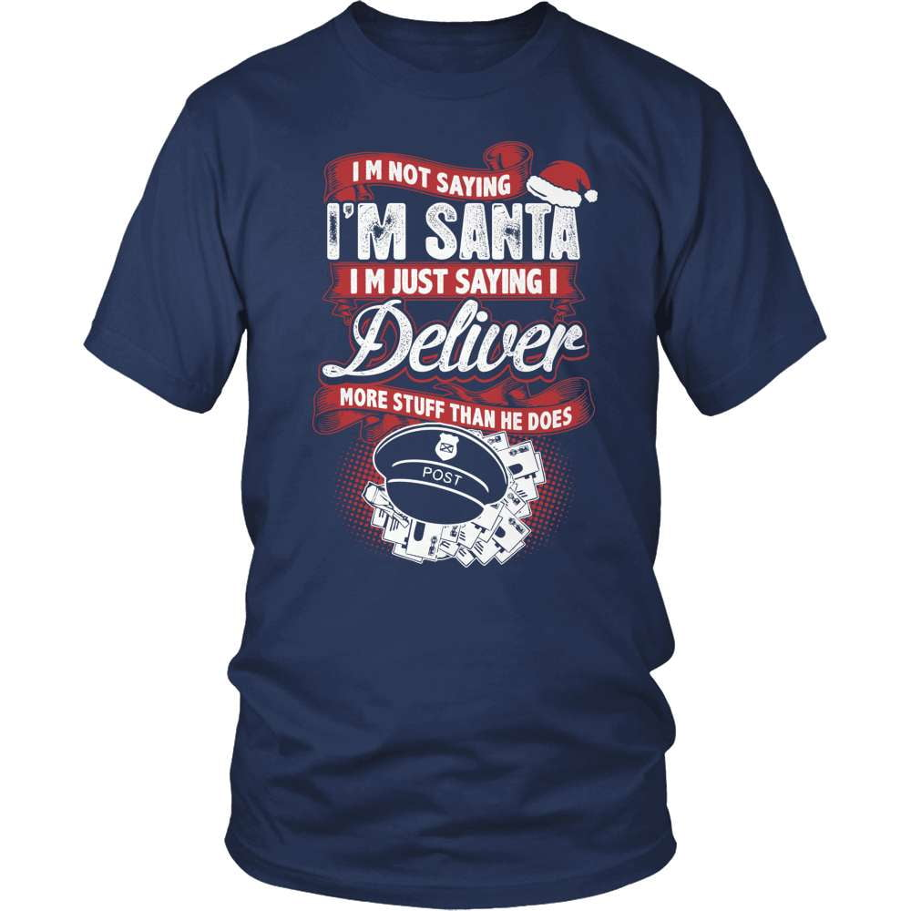 Mail Carrier T-Shirt Design - Mail Santa