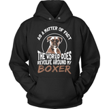 Boxer T-Shirt Design - World Revolves