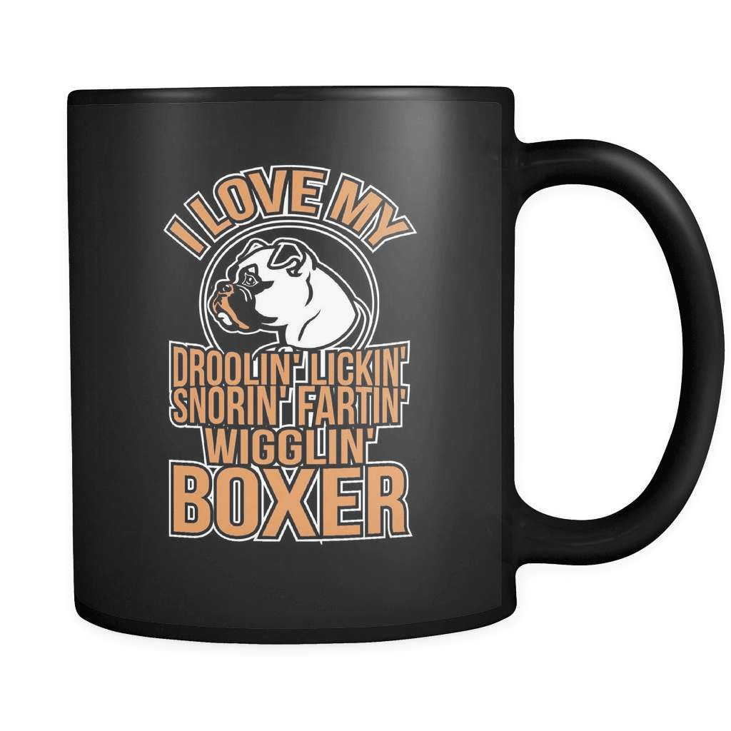 I Love MY Boxer - Luxury Mug - snazzyshirtz.com