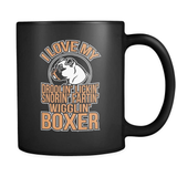 I Love MY Boxer - Luxury Mug