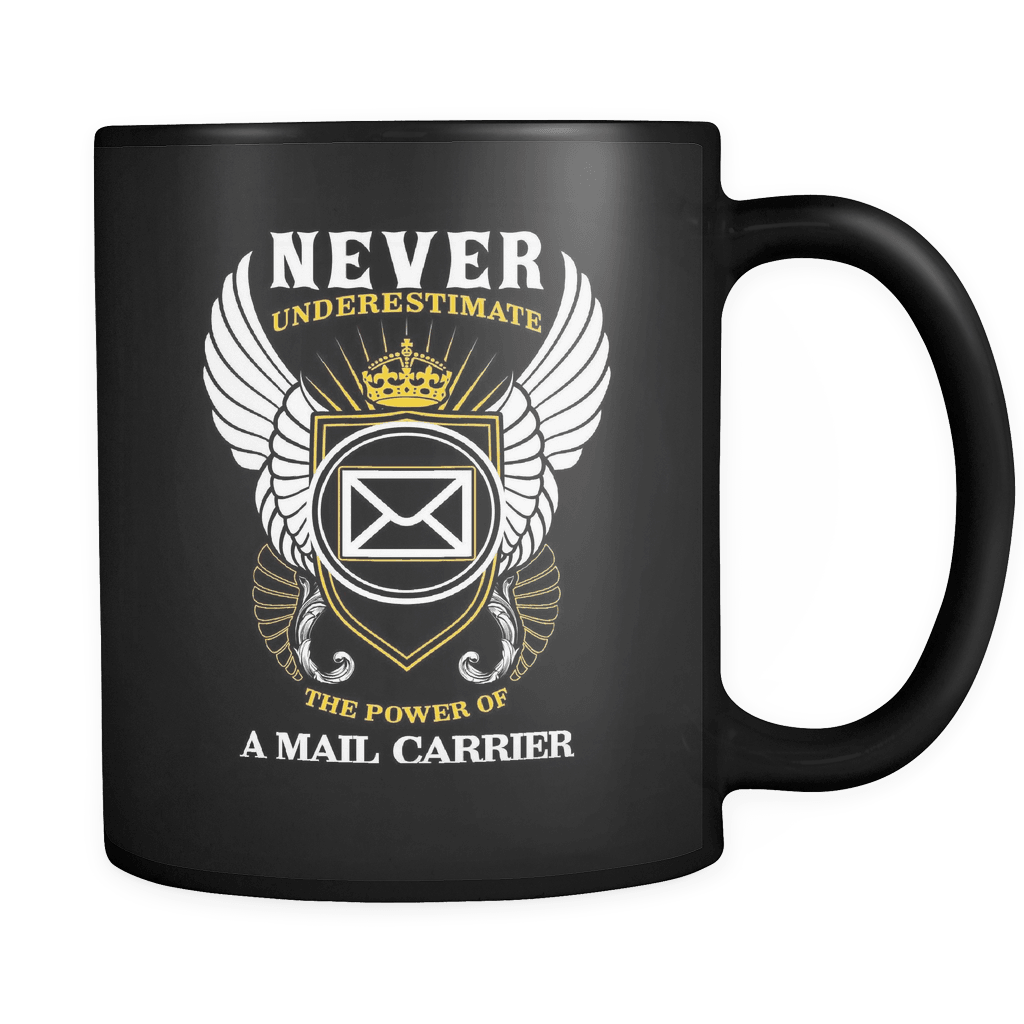 The Power Of A Mail Carrier - Luxury Mug