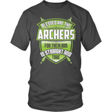 Archery T-Shirt Design - Blessed Are The Archers