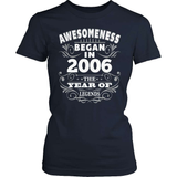 Birthday T-Shirt Design - Awesomeness - 2006