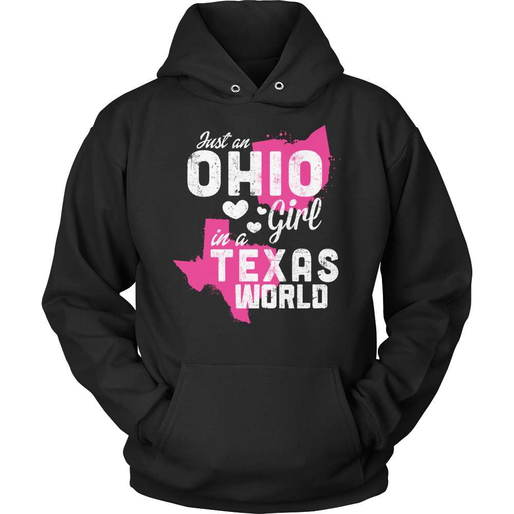 Ohio T-Shirt Design - Ohio Girl Texas World