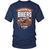 Biker T-Shirt Design - Blessed Are The Bikers