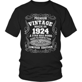 Birthday T-Shirt - Premium - 1924